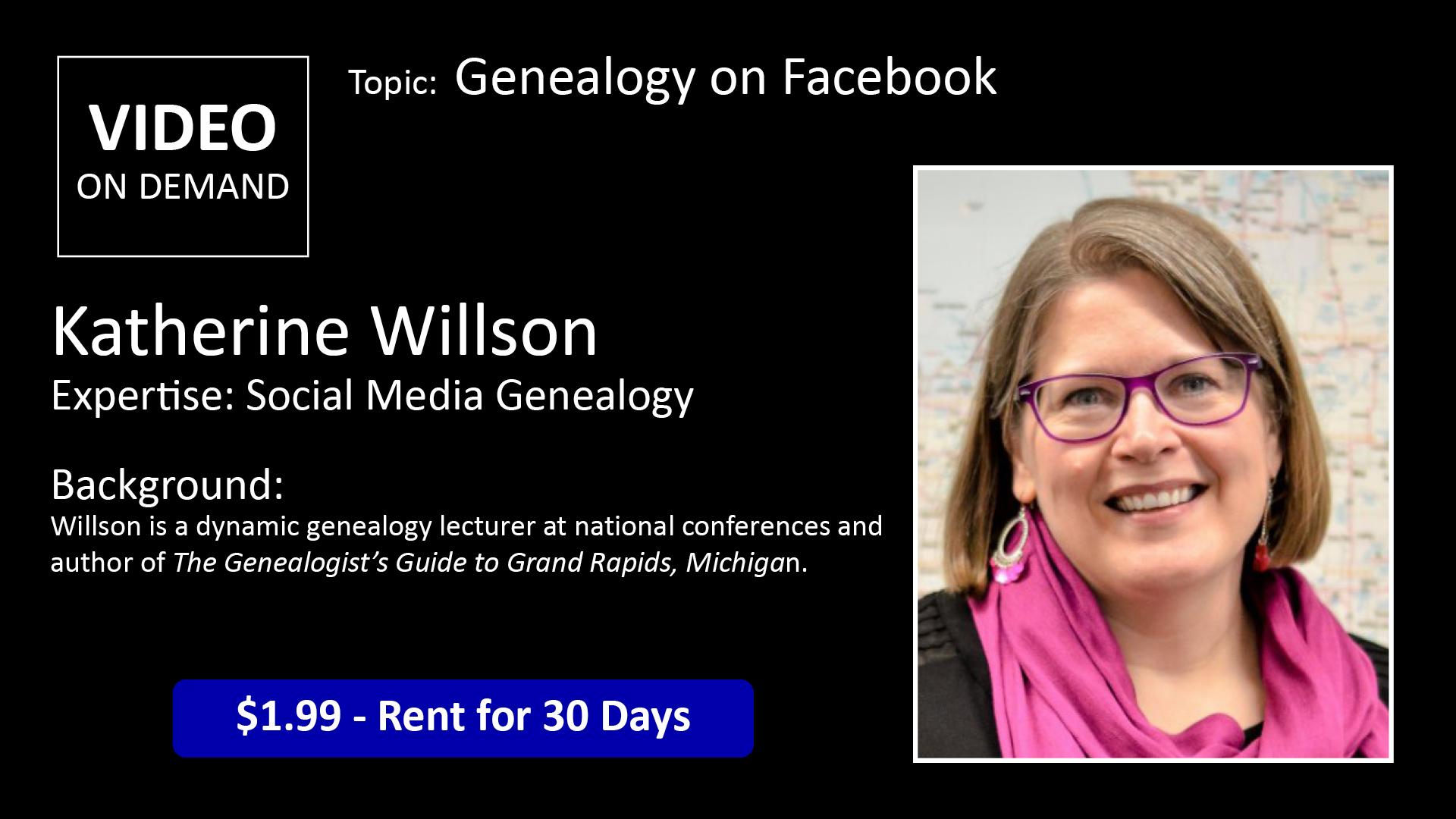 Katherine Wilson Genealogy