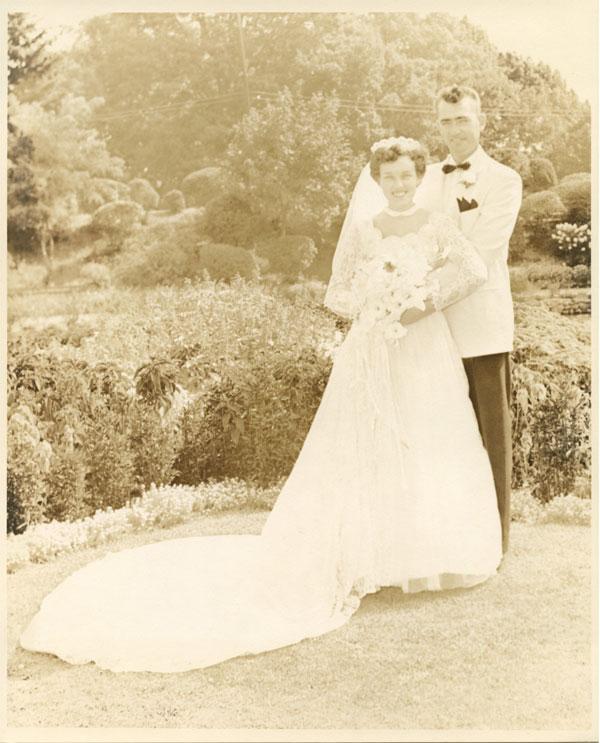 Maureen Taylor mom wedding photo Before