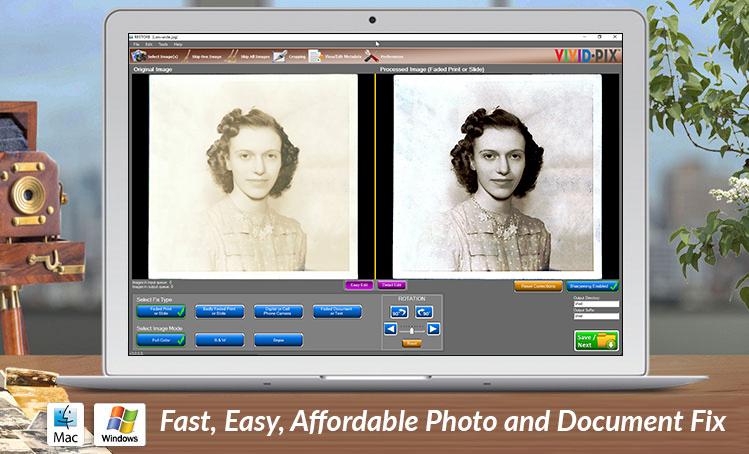 RESTORE | Fast, easy photo restoration software