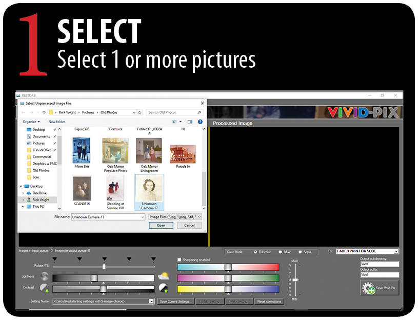 Vivid-Pix | Fast easy, software to improve your images