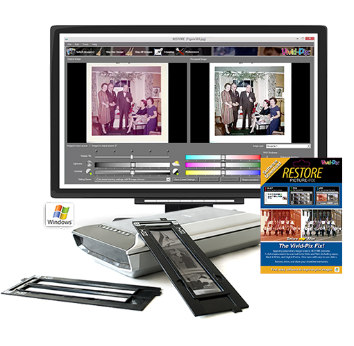 Vivid-Pix Announces RESTORE Photo Software